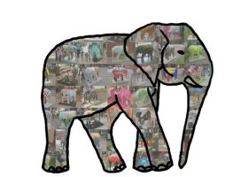 The Elephants of Norwich by Bar-ra-couda