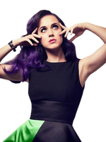 Katy Perry PNG by danperrybluepink