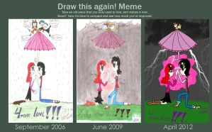 Before and After meme: 4ever love by erisama