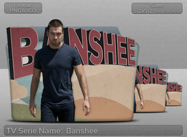 Banshee - Tv Serie Folder Icon by atty12