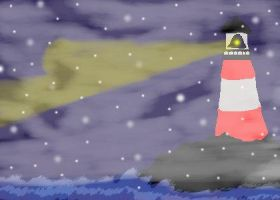 The Winter Lighthouse by Zilch17