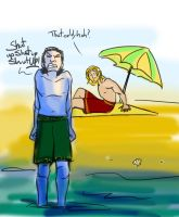 Loki Hates the Beach (3) by theTieDyeCloak