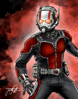 Marvel Collage Inidividual, AntMan by TheJarett