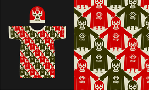 Lucha tee and beanie by russoturisto