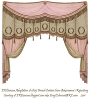 1809 Curtain - Pink Chocolate by EveyD