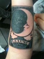 new tattoo by pommepourritte