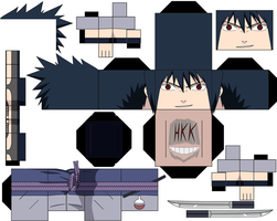 New Sasuke War by hollowkingking
