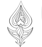 Female Symbol LESBIANS OUTLINE by NeoGzus