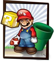 Mario by charlesfrd
