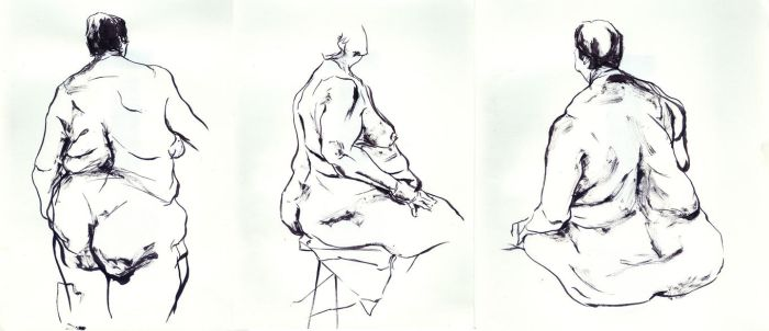 life drawing 5 by chajin