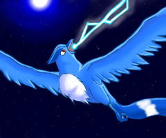 Articuno-Ice Beam by lvdragon