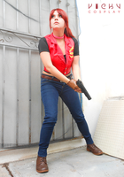 Go for it! - Claire Redfield cosplay RE CVX by Vicky-Redfield
