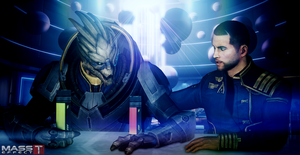 Alien Friendship (Mass Effect 3) by toxioneer