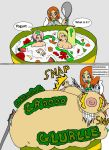 Orihime 5th meal by snoup77
