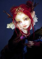 Fille du Faun detail by Inchelina