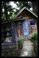 its a cabin in the lavender by iamadesert