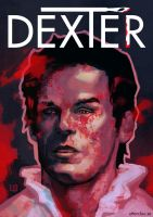 Dexter poster by Flaskpost