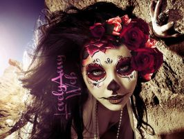 Amy Lee as Catrina by fairytaleoflies
