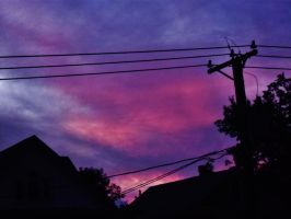Sky Wires And Roofs Oh My 013 by notmor