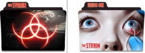 The Strain Folder Icons by nellanel