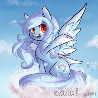 SnowShoe Waves To You by BlueKazenate