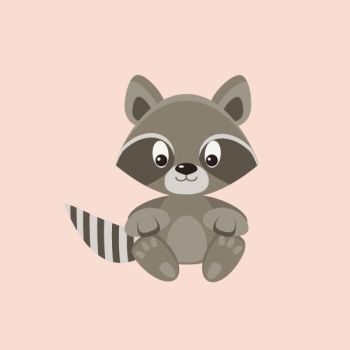 raccoon by Toweliena