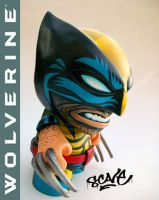 Custom Munny Wolverine by scavenjer