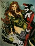 """""""Fatales"""" - Ivy and Harley by mysteryming"""