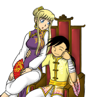 Emperor Ling and his Winry by Duelistabbeyryou