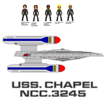 Crew of Uss chapel by Robbie18