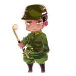 hetalia South Africa chibi by buzbuster