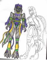 Beast Wars-Machines: Lupine by ToonQueen
