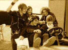 MCR on a...golfcart? by eyelinergirl73