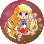 Sailorvenus button by Hadibou