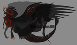 Arc Dragon Adopt - Blood And Fire CLOSED by HeavenAndHellAdopts