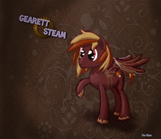 Gearett Steam COMMISSION by DarkFlame75
