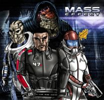 Mass Effect cast by Lannytorres