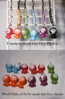 Skull Kid Key Chains- Done and To Be Made by superkitten1990