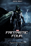 MCU Fantastic Four fan-made poster by DarthDestruktor