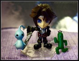 Little Squall and Friends :) by Miarath
