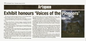 Voice of The Pioneer - Morden Times by WayneBenedet