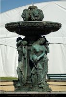 Lady and Lion Fountain by SalsolaStock