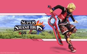 Shulk Wallpaper - Super Smash Bros. Wii U/3DS by AlexTHF