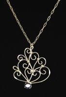 Silver Filigree Pendant by Znapple