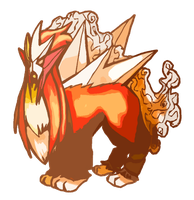 Entei by Shalmons