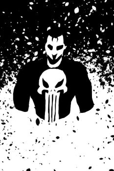 punisher poster thing by Sktchman