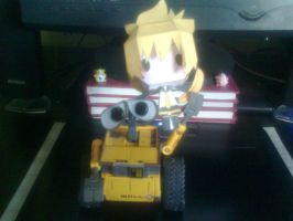 My Wall-e and my Len by aninhachanhp