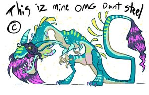 Thees iz mien OC dunt take plz by Turtle-Arts