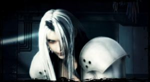 A little more of Sephiroth by seynagoodwitch