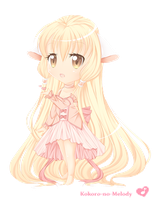 Chobits - Chii by Kokoro-no-Melody